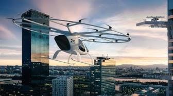 Taxi Volador Electrico es presentado por primera vez al publico europeo