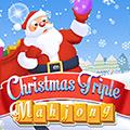 Christmas Triple Mahjong