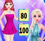 Elsa Vs Ariel Fashion Competition