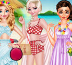Princesses Dress Trend For Hawaii